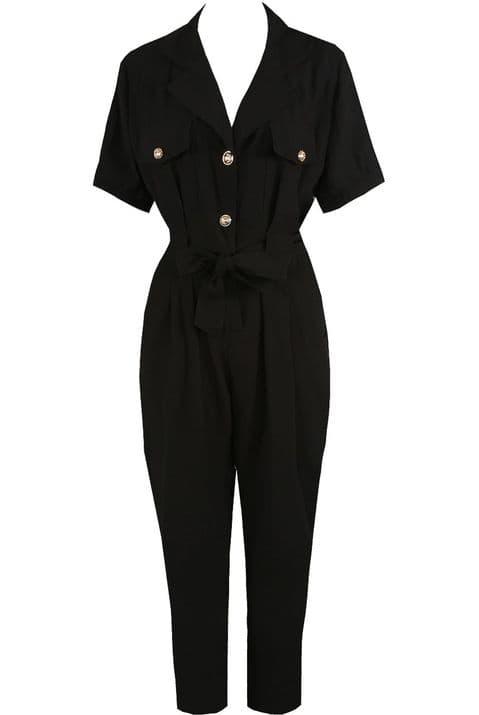 Celine Black  Boiler Suit