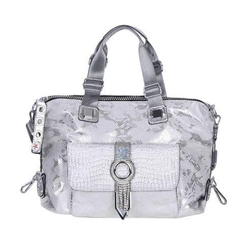 Cilli Silver Snake Bag