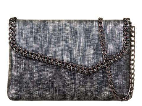 Stellawella Clutch Bag Metallic Silver