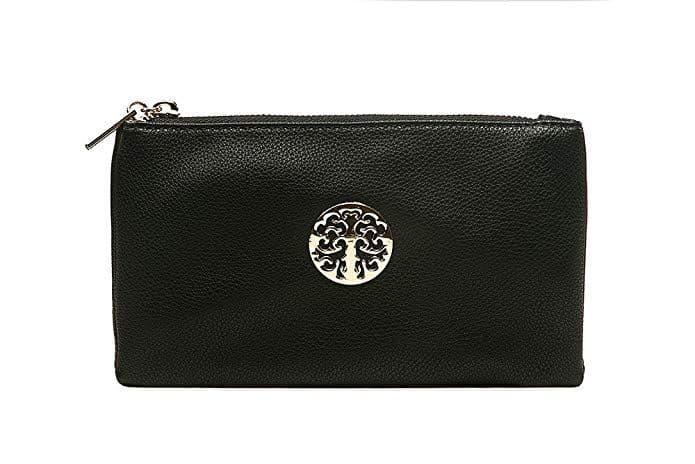 Tree Mini Clutch Bag Black