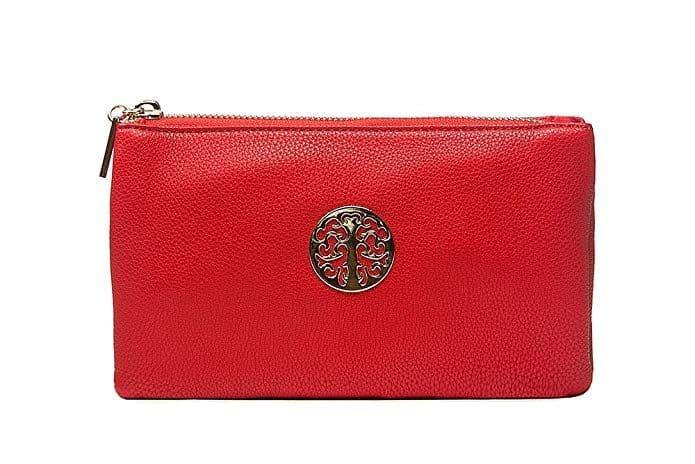 Tree Mini Clutch Bag Red