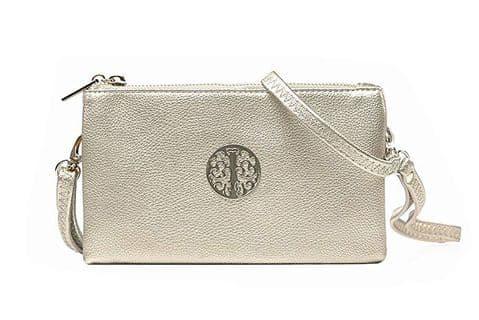 Tree Mini Clutch Bag Silver