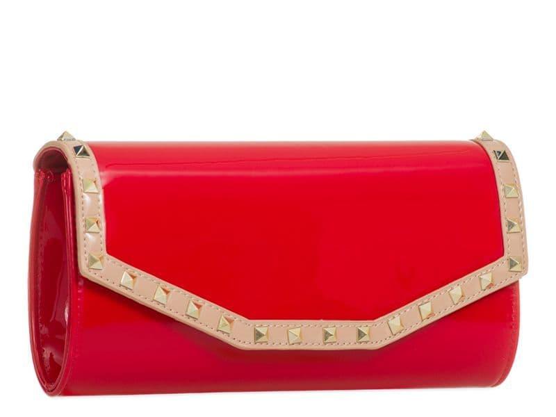 Valentina Clutch Bag Red