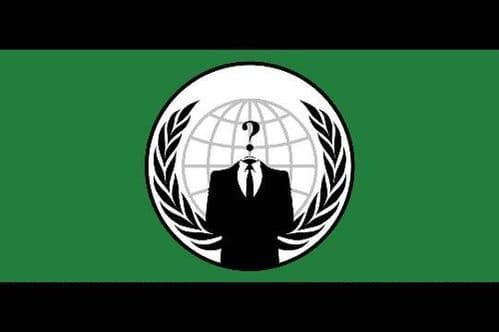 Anonymous 5ft x 3ft Flag