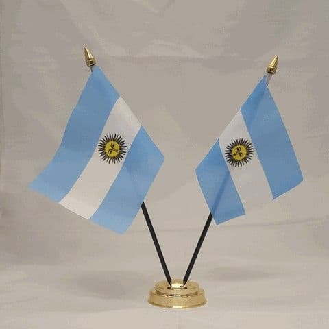Argentina Double Table Flag