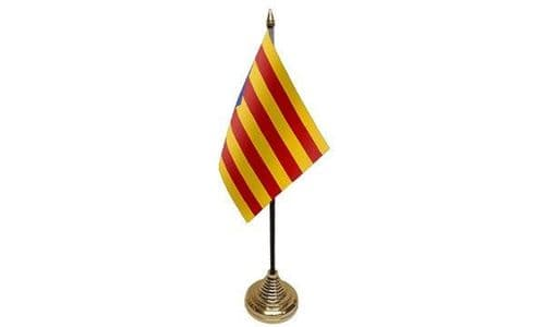 Catalonia Independence Table Flag