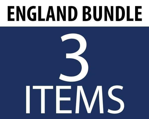 England Supporters Bundle (3 Flags)