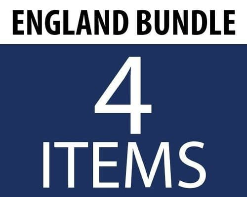 England Supporters Bundle (4 Items)