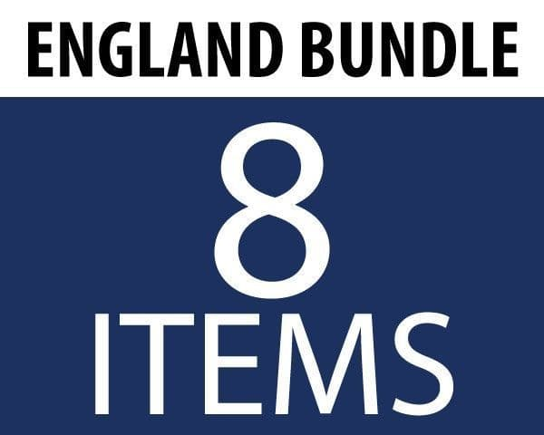 England Supporters Bundle (8 Items)