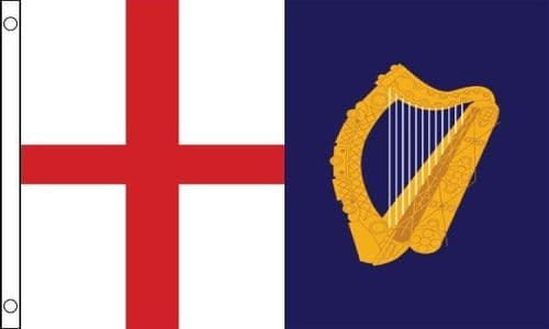Jack and Command 1649 to 1658 5ft x 3ft Flag