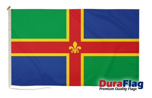 Lincolnshire Premium Quality DuraFlag¸ Rope & Toggle - 5ft x 3ft