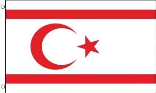 North Cyprus VALUE 3ft x 2ft Flag