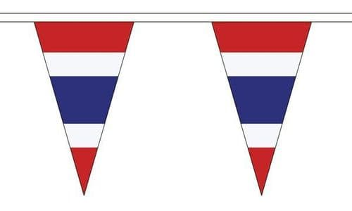 Thailand Triangle Bunting (5m) - 12 Flags