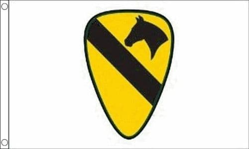 US Airborne (1st Cavalry) 5ft x 3ft Flag
