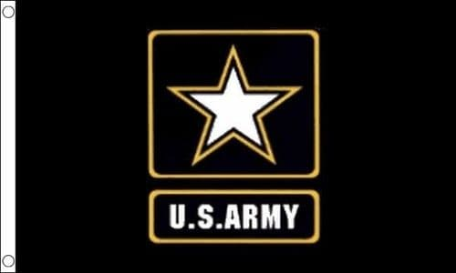 US Army Star 5ft x 3ft Flag