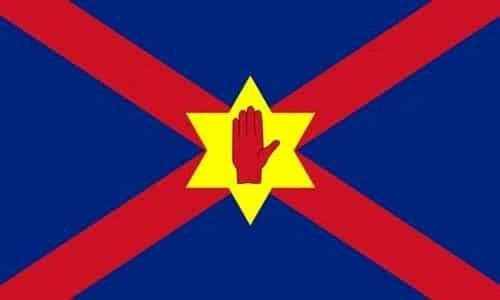 Ulster Nationalist 5ft x 3ft Flag