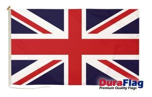 Union Jack Premium Quality DuraFlagö Rope & Toggle - 5ft x 3ft