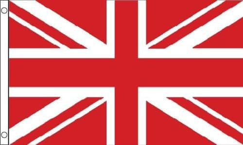 Union Jack Red and White 5ft x 3ft Flag