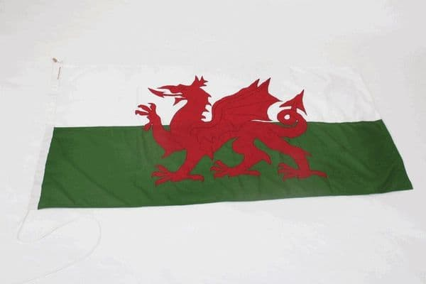 Wales SEWN 5ft x 3ft Flag
