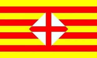 Barcelona Province 5ft x 3ft Flag
