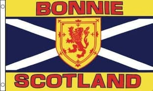 Bonnie Scotland 5ft x 3ft Flag