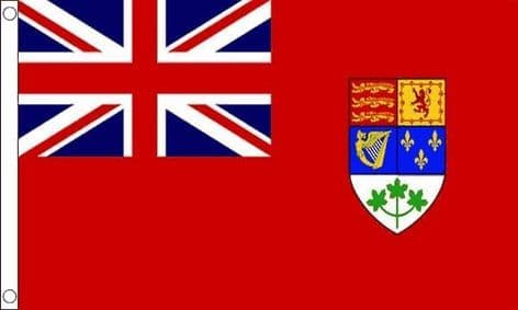 Canadian WWII 5ft x 3ft Flag