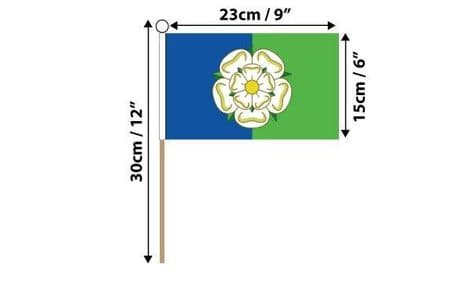 East Riding of Yorkshire Hand Flag | Buy East Riding of Yorkshire Hand Flag | NWFlags