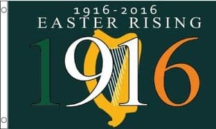 Easter Rising 100 Years 5ft x 3ft Flag