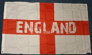 England Supporters Flag St George - 5ft x 3ft