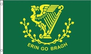 Erin Go Bragh (Ireland) VALUE Flag - 3ft x 2ft