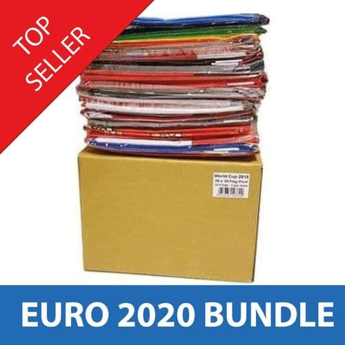 Euro 2020 - All 24 Competing Nations - 5'x3' Flags