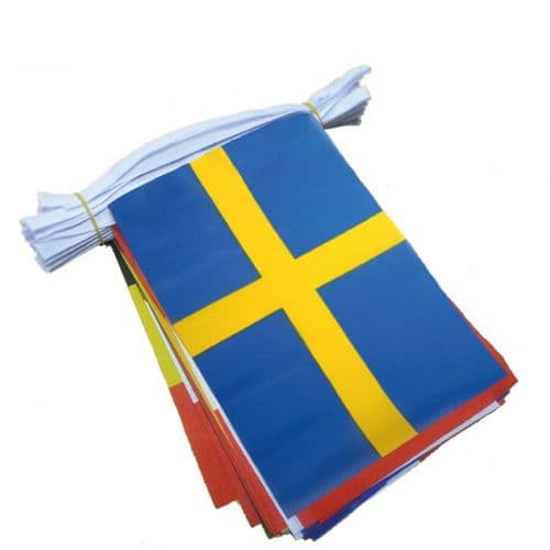 Euro 2020 Large Bunting (16m) - 24 Flags