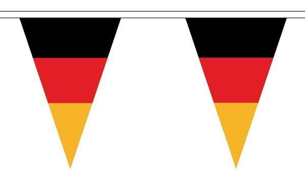 Germany Triangle Bunting (5m) - 12 Flags