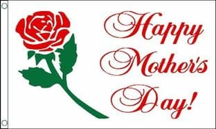 Happy Mothers Day VALUE Flag - 3ft x 2ft