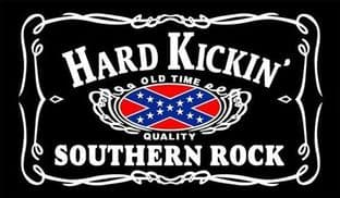 Hard Kickin Southern Rock 5ft x 3ft Flag