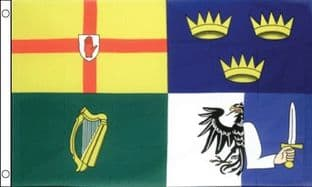 Ireland 4 Provinces 5ft x 3ft Flag