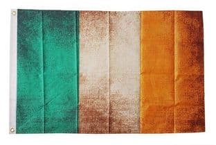 Ireland Grunge 5ft x 3ft Flag