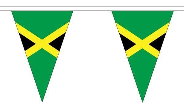 Jamaica Triangle Bunting (5m) - 12 Flags
