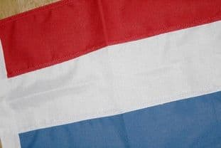 "Netherlands SEWN Flag - 18"" x 12"""