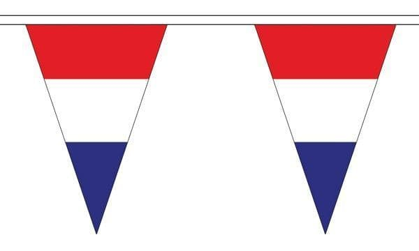 Netherlands Triangle Bunting (5m) - 12 Flags