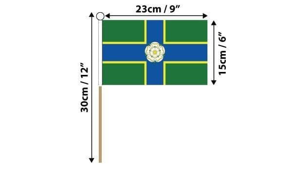 North Riding of Yorkshire Hand Flag