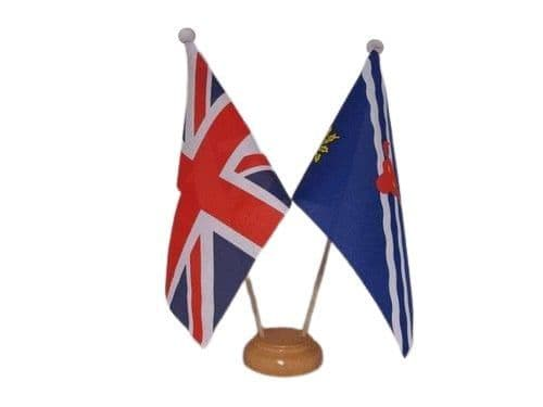 Oxfordshire Friendship Wooden Table Flag