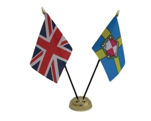 Pembrokeshire with UK Friendship Table Flag