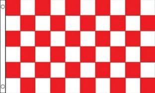 Red and White VALUE Flag - 3ft x 2ft