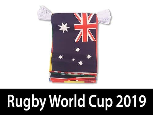 Rugby World Cup GIANT Bunting 15m   Buy Rugby World Cup GIANT Bunting 15m   NWFlags
