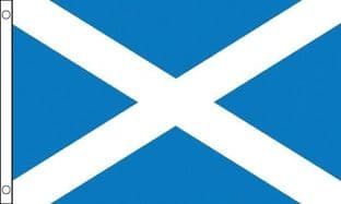 Scotland GIANT Flag - St Andrew - 8ft x 5ft