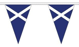 Scotland (Navy Blue) Triangle Bunting (20m) - 54 Flags