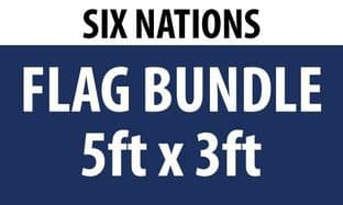 Six Nations Flag Bundle (5ft x 3ft)