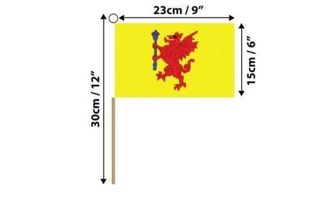 Somerset Hand Flag   Buy Somerset Hand Flag   NWFlags