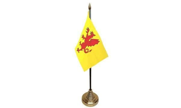 Somerset Table Flag